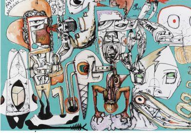 """Vernisajul expozițieipersonale a graficianului Gabriel Caloian intitulată """"Survival Dance"""" la Galeria Senso"""