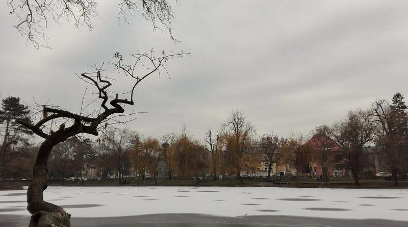 E ceață în Cluj…