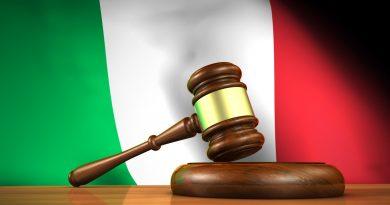 Justiția italiană, campioană europeană la lentoarea proceselor